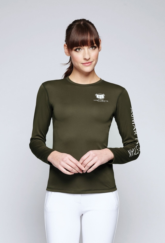 AE3050-long-sleeve-logo-tee-noel-asmar-equestrian-womens-tops-forrest-night-front